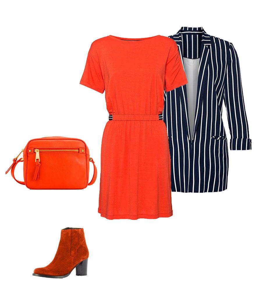 Glamouröses Outfit mit Blazer