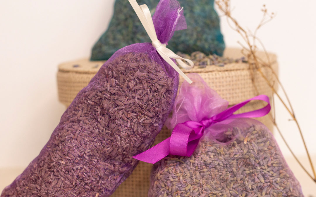 Lavendelkissen selbermachen