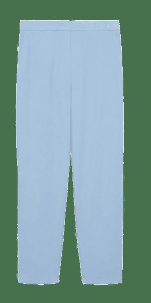 Blaue Chinohose